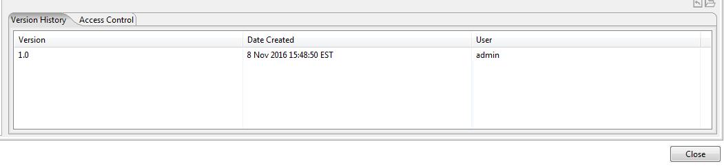 Version History tab is visible.